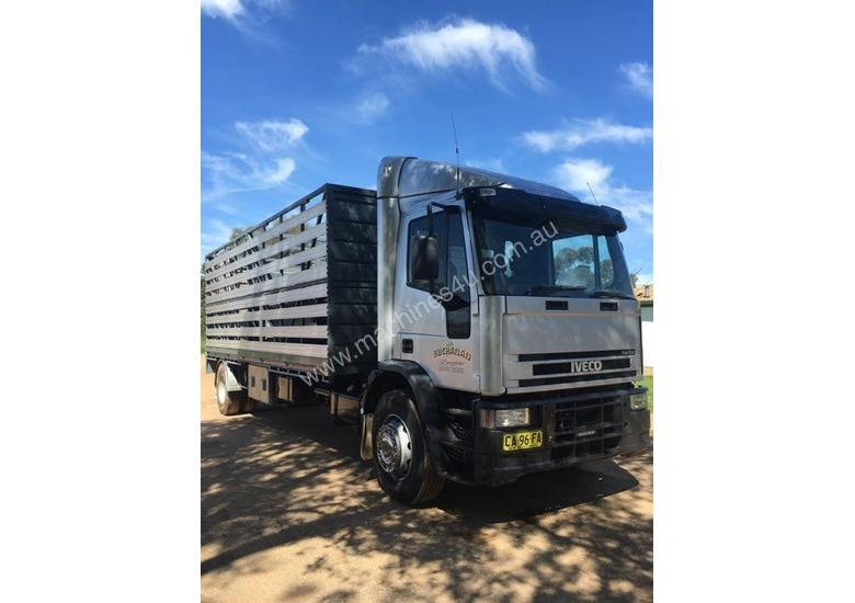 Iveco EuroCargo Stock/Cattle crate Truck