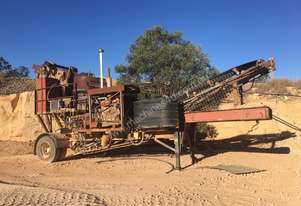 "Jaques Trailer Mounted  18"" Cone Crusher"