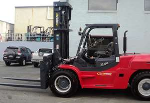 New Enforcer 10T Diesel Forklift. 5 year factory backed warranty with the Rent to Own package