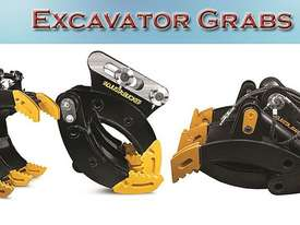 Fully Adjustable Hydraulic Excavator Grab - picture0' - Click to enlarge