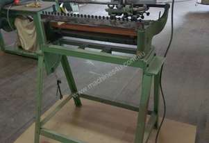 Scheer 3-phase dovetailing machine