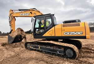 CASE CX250C CRAWLER EXCAVATORS