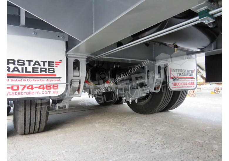 Interstate Trailers Tandem Axle Tag Trailer Custom Silver ATTTAG