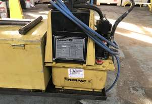 Enerpac Hydraulic Pipe Bender Air Powered Hydraulic Pump