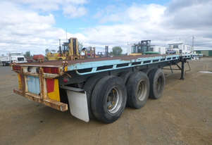 Loadmaster Semi Flat top Trailer