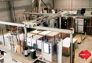 Late Model Biesse Storage System Low Hours With Rover B Nesting