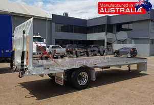 9 Ton Single Axle Custom Flatbed Trailer ATTTAG
