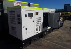 Ex Hire 150 KVA Primepower 170KVA Standby Cummins powered Generator