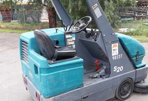 Industrial sweeper available for hire