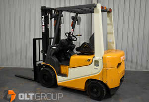 TCM 1.8 Tonne Diesel Forklift 6609 Hours Container Entry Mast Sideshift 3.3m Lift Height