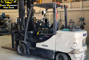 2009 Crown CGC55-5 Forklift, side shift.  MS586A