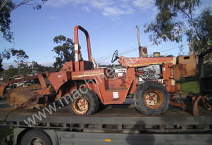 ditch witch 4010 deisel trencher being dismantled , all parts available from $100