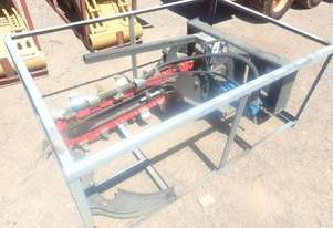 Chain Trencher to suit Skidsteer Loader
