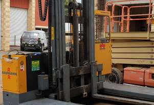 HIRE OR SALE- Baumann Electric Sideloader/ All Directional 4.5t 9m