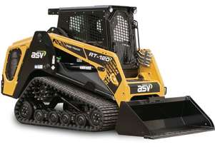 ASV RT-120 POSITRACK LOADERS & SITE DUMPERS