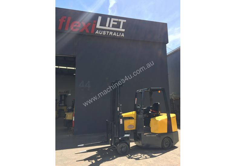 Aisle-Master Narrow Aisle 20SE Articulated Electric Forklift- Refurbished & Repainted