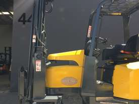 Aisle-Master Narrow Aisle 20SE Articulated Electric Forklift- Refurbished & Repainted - picture1' - Click to enlarge