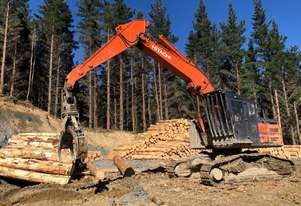 2014 Hitachi ZX 290L-3 Log Loader