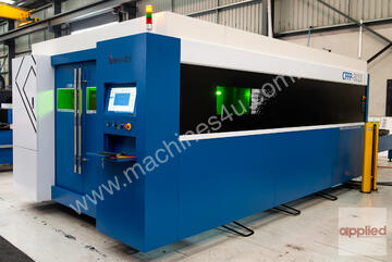 ~~ IN STOCK ~~   Yawei CKY-1530D CNC fiber laser with 2kW IPG, Raytools autofocus head & more ....