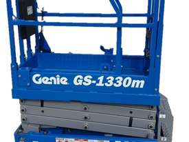 13FT ELECTRIC SCISSOR LIFT GENIE - picture0' - Click to enlarge