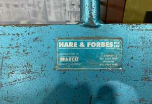 Hafco Manual Pan Brake