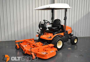 Kubota F3690 Mower 36hp Diesel 72 Inch Side Discharge Deck 791 Low Hours 4WD Out Front Mower