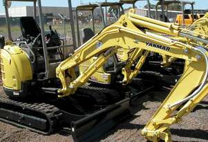 Yanmar Vio35 Track Mounted For Hire