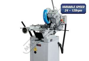CS-350V Cold Saw, Includes Stand 160 x 90mm Rectangle Capacity Variable Blade Speed 24~120rpm