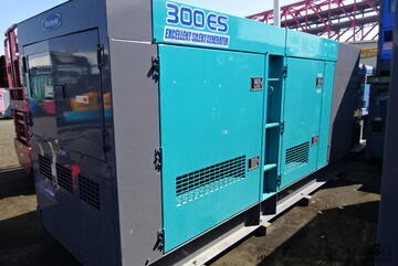 300 KVA Komatsu Silenced Diesel Generator As new Condition  Fraction of New Cost Only