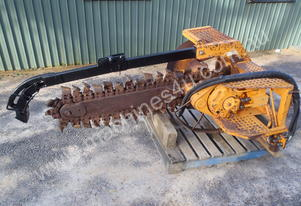 Skidsteer Trencher Attachment Hydrapower HT4 LARGE