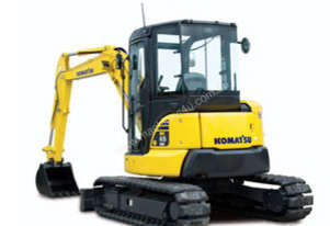 Komatsu PC35MR-3 Tracks by Tufftrac