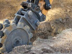 5T 380mm Compaction Wheel Attachment - picture2' - Click to enlarge