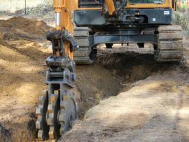 5T 380mm Compaction Wheel Attachment - picture3' - Click to enlarge