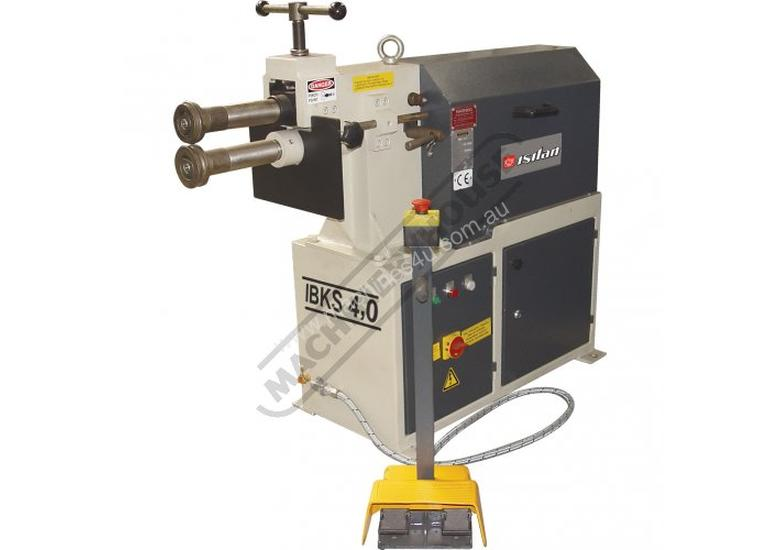 IBKS-4.0 Swage and Jenny - Motorised 4.0mm Mild Steel Thickness Capacity Includes 4 Sets Of Rolls