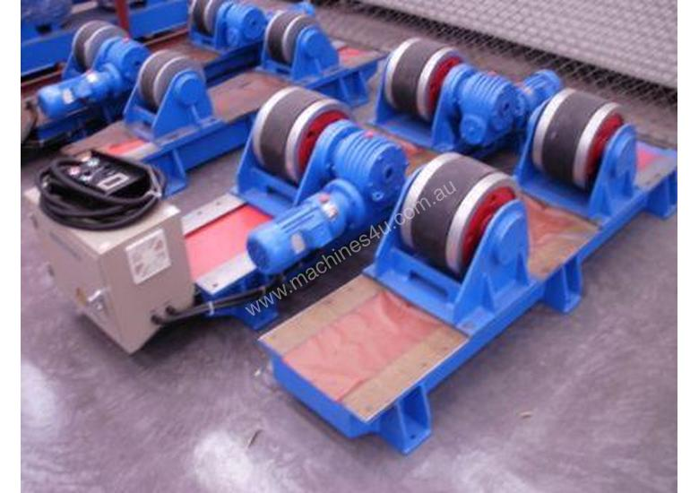 Welding Rotators 10 ton cap drive and idle