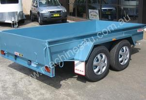 No.10D Tandem Axle Box Trailer 3.6m x 1.8m (12x6)