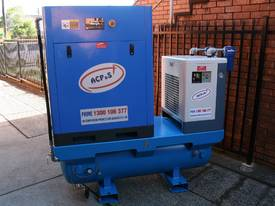 New air compressor products Screw Compressors for sale - German Rotary Screw - 20hp / 15kW Rotary Ai - picture2' - Click to enlarge
