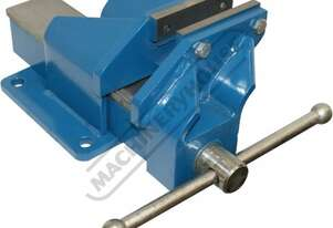 OFV4HD Steel Offset Fabricated Bench Vice - Right Hand 100mm Jaw Width 125mm Jaw Opening