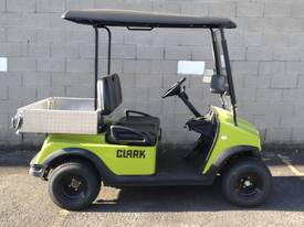 Electric Utility Vehicle with Canopy & Cargo Box