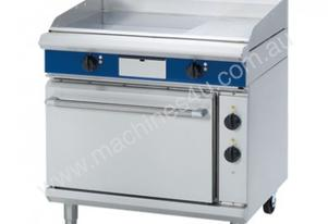 Blue Seal Evolution Series EP506 - 900mm Electric Griddle Static Oven Range