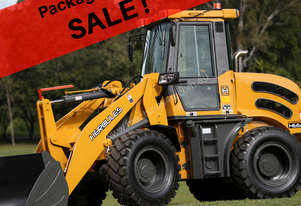 PACKAGE COMBO SALE!! 2019 HERCULES HE650B WHEEL LOADER