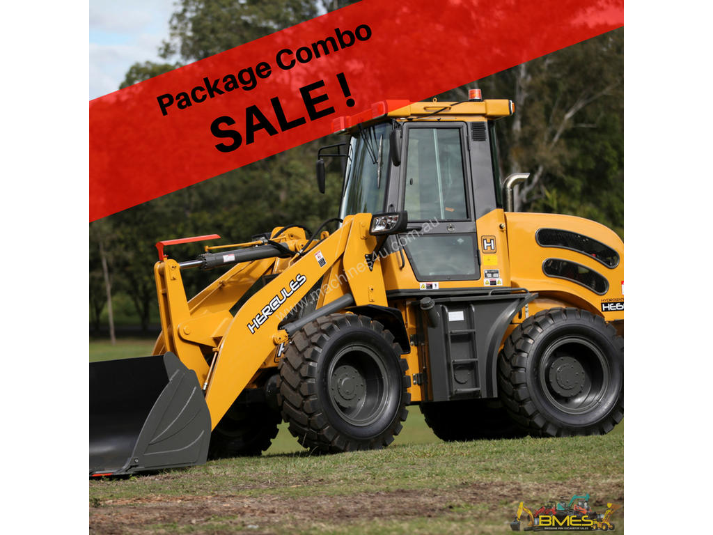New 2019 Hercules He650b Wheeled Loader In Sold On