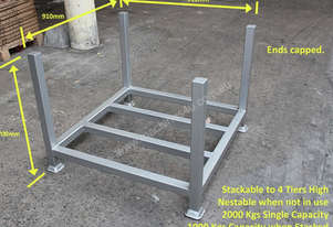 Powder Coated Rigid Stillage Cage