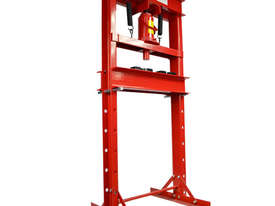 Professional Fully Welded H Frame 20 Ton Shop Press - picture0' - Click to enlarge