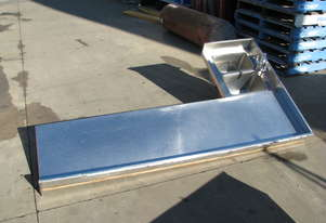 Large Long Commercial Stainless Steel Corner Sink