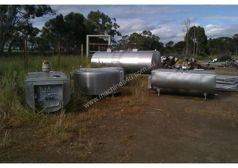 Used Mixing Tank Stainless Steel Tanks In Timboon West