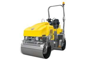 WACKER NEUSON RD27-120 Double Drum Ride On Roller