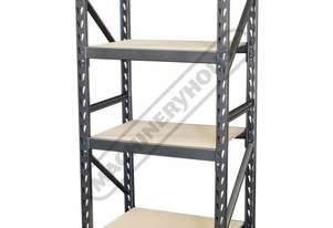 RST-4D Flexi-Rack Wood Shelving 364kg Shelf Load Capacity 915 x 610 x 1830mm