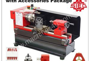 SIEG C0 110x125mm Baby Lathe Accessory Package