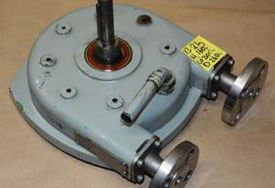 Peristaltic hose pump Half inch flanged stainless